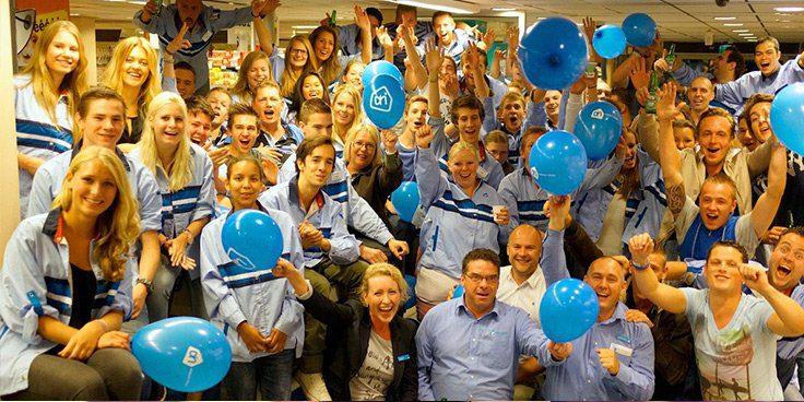 Personeel van AH Blaricum - de beste winkel van Nederland